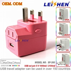 Most hot World universal travel adapter for travel gifts