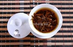 Kongou black tea, big golden sprouts, Mantanghong