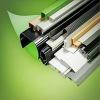 Customer design plastic extrusion rectangular pvc pipe