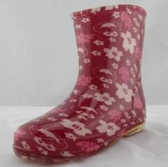 fashion pvc rain boot 1445