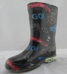fashion pvc rain boot 1456