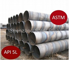 X65 Spiral Welding Carbon Steel Pipe API5l Special Offer