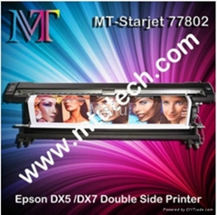 Double Side Eco Solvent Printer,with Epson DX5/DX7 (1440dpi,1.8/3.2m optional)