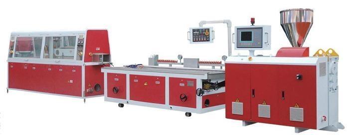 型材pvc擠出生產線 1