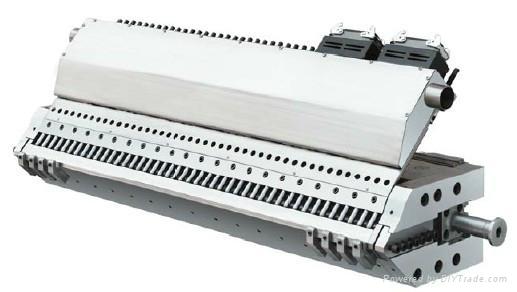 塑料片板材T型擠出模具 1