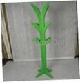 MDF wooden coat tree hat rack clothes stander home decoration 4