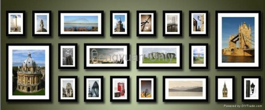 wooden photo frame wall decor - Xinlinyuan (China Trading Company ...