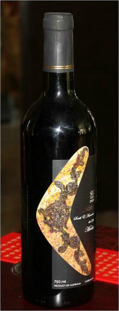 澳州澳帝梅露干紅葡萄酒2009 1