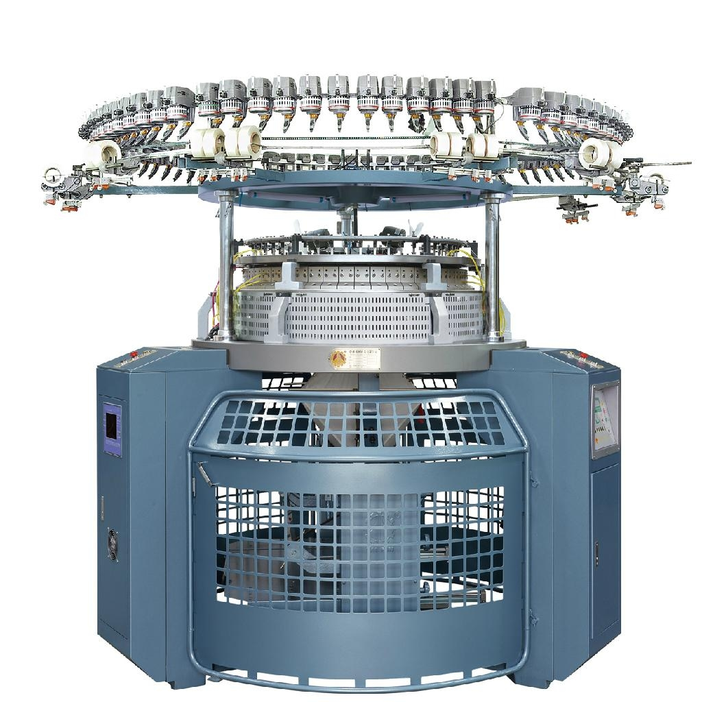 new Single Jersey Computerized Jacquard Knitting Machine ...