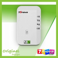 7inova 300Mbps Indoor Wireless-N Wifi Repeater Wifi Booster Signal Amplifier