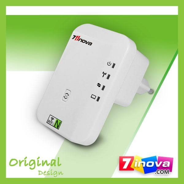 7inova 300Mbps Indoor Wireless-N Wifi Repeater Wifi Booster Signal Amplifier 3