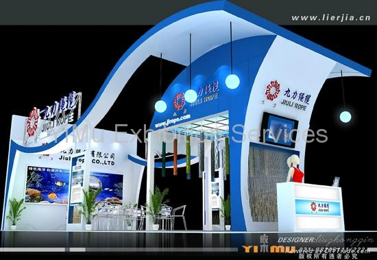China Design Exhibition Stand And Construction Eb Yimu China Services Or Others Other