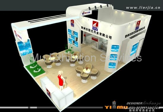 shanghai exhibition booth design ideas eb yimu china
