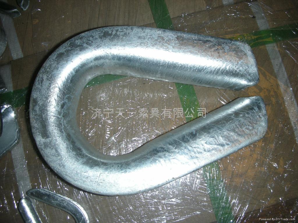重型G414鋼絲繩套環 4
