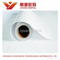 LAM-130G(copper print paper with green lines), Glossy Cold Laminating Film,Pictu