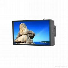 outdoor waterproof advertising lcd multimedia information kiosk