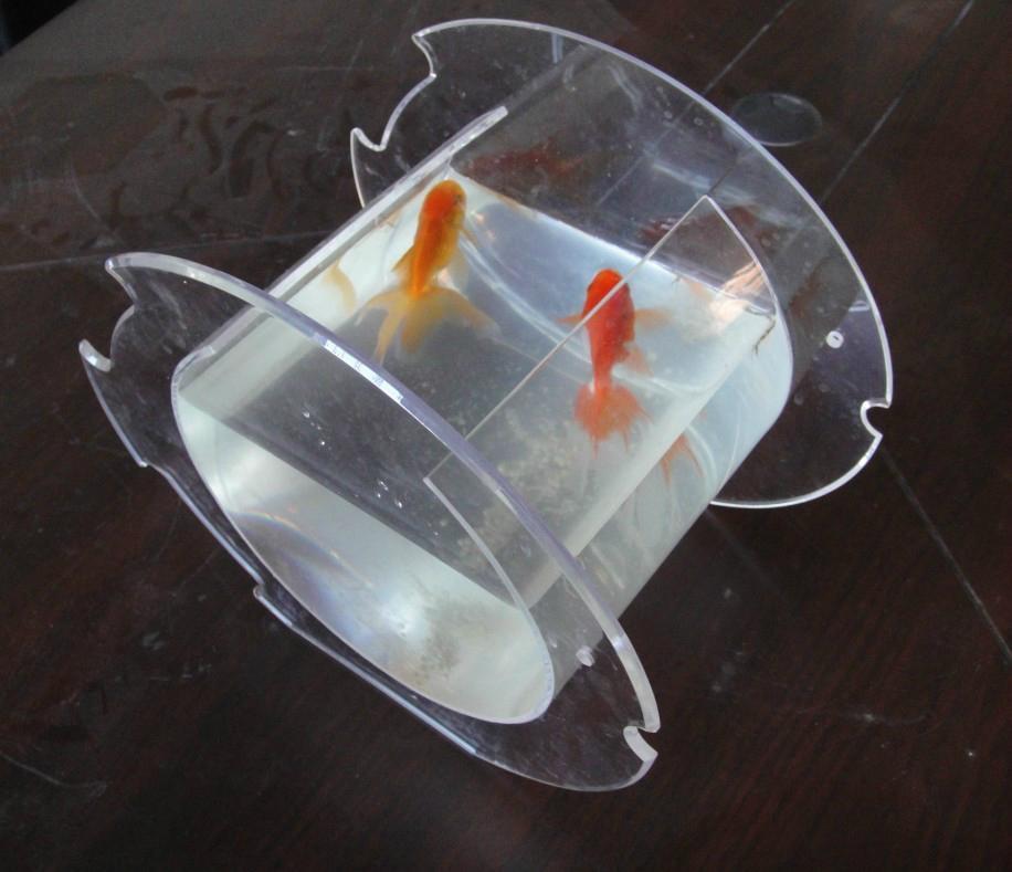 Acrylic vase fish tank fishbowl china promotion for Plastic fish tank