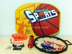 DIY金屬籃球版