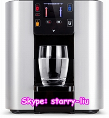 LONSID TFT display color housing bottless water cooler dispenser on sale
