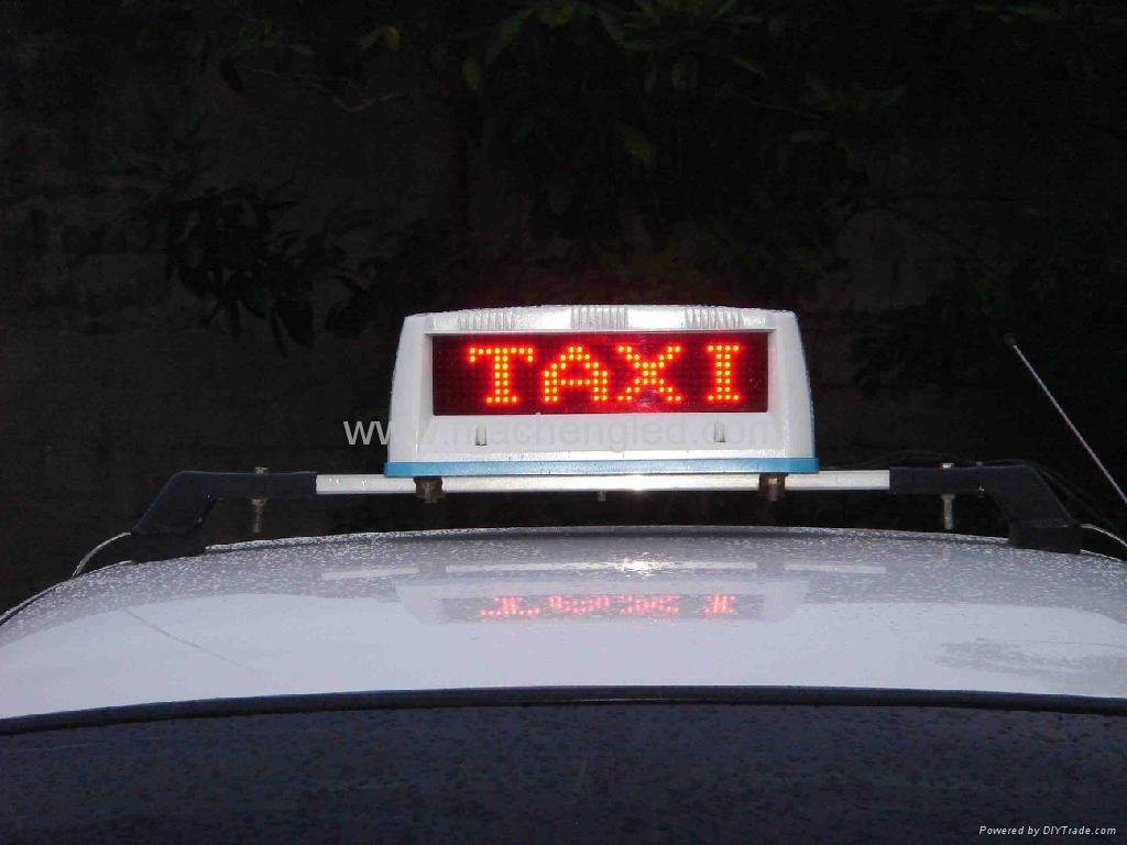 LED 戶外的士車載顯示屏 1