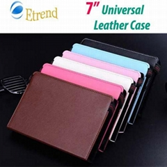 7 inch Universal Leather Case Protective Case for Tablet PC MID Ebook