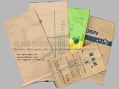 Kraft paper woven bags