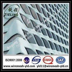 Decorative Aluminum expanded metal for building facade