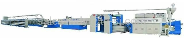 Model SJ120-1500-250 High-Speed Extrusion and Stretching Machine  1
