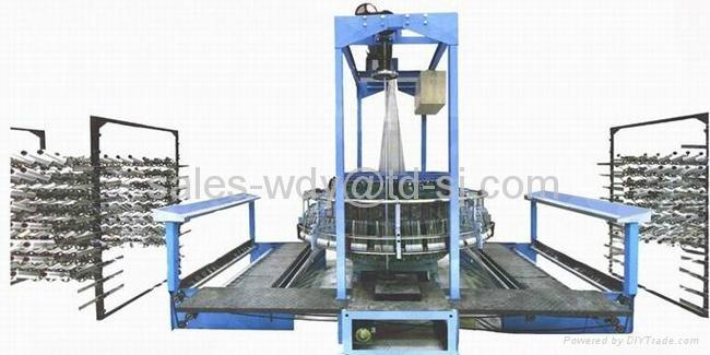 High Speed Model GS-YZJ-4 Circular Loom (PLANE CAM ROLLER ORBIT)  1