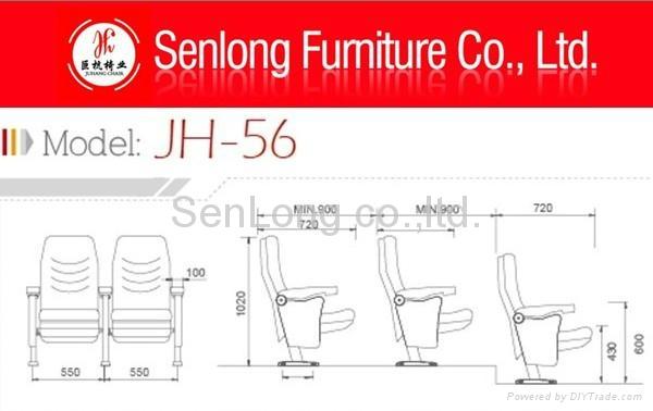 hot sale plastic stadium chair price theater seat parts 3