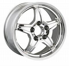 "Benz Replica 15"" aluminum alloy wheels"