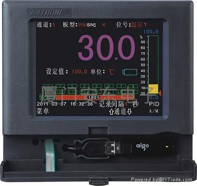 液晶彩屏无纸记录仪 1