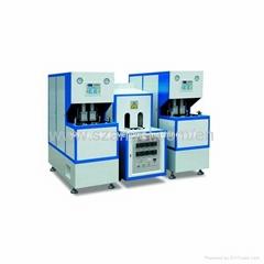 semi automaitic blow molding machine