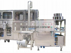 Cap wash and loader machine