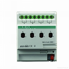 KNX- Switch Actuator-4 Fold