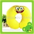 OEM cartoon soft u-shape musical neck pillow for travel 1