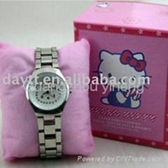 Wholesale Hello Kitty Wrist Watch Hot Sale for gifft