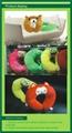OEM cute cartoon health massage Neck pillow 1
