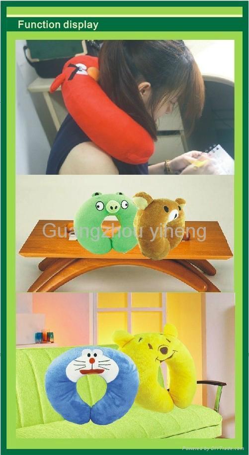 OEM cute cartoon health massage Neck pillow 2