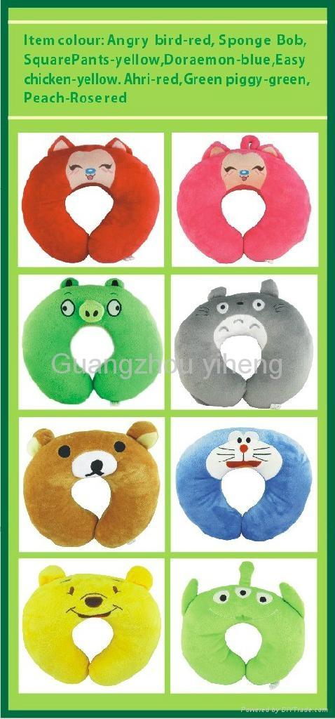 OEM cute cartoon health massage Neck pillow 5
