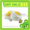 Toys for children stuffed giraffe toy eating fish