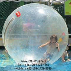 Human Walking on Water Ball, PVC Zorbing Roller Ball