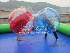 Inflatable Bumper Ball, Body Zorbing Ball.