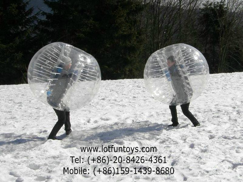 Inflatable Bumper Ball, Body Zorbing Ball. 3