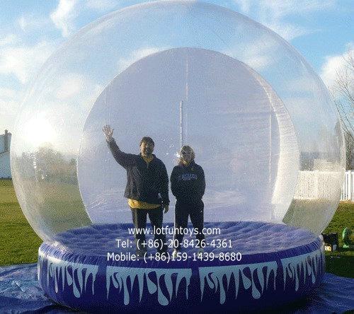 Giant Inflatable Human Snow Globe for Christmas Holiday 1
