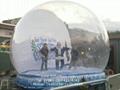 Giant Inflatable Human Snow Globe for Christmas Holiday 5