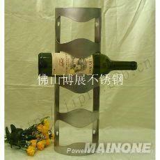不锈钢酒架 4