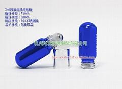 3ml roll-on perfume glass bottle