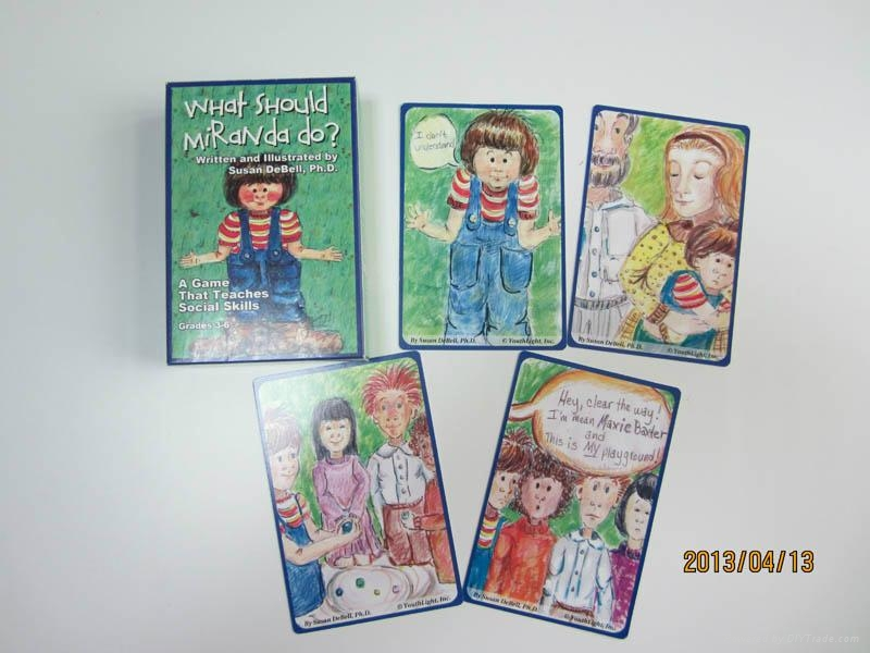 Family funny game cards  2