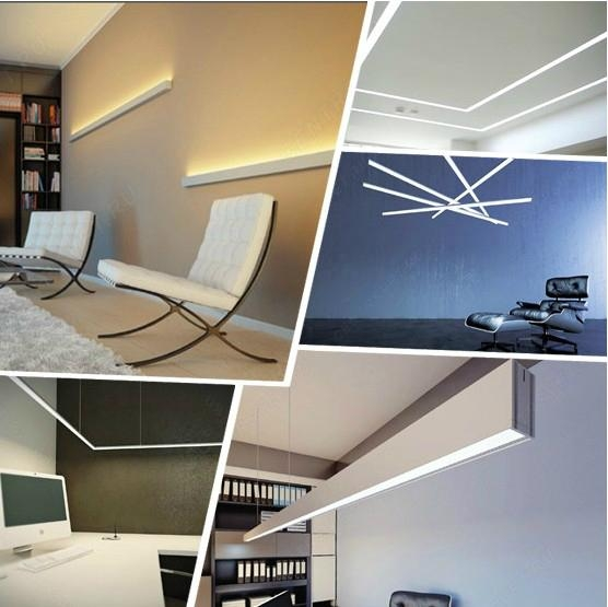 Special design aluminum profile for led strips factory direct sale 1